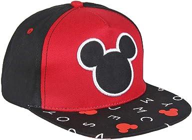 ARTESANIA CERDA Gorra Premium Logo Mickey, Negro (Negro Negro), M ...