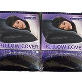Amazon Com Satin Pillow Case Standard Size Beige 2