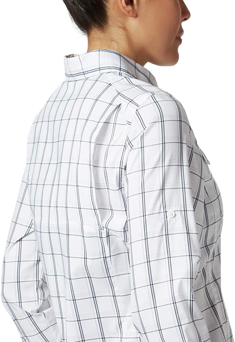 Columbia Womens Silver Ridge Lite Plaid LS Shirt