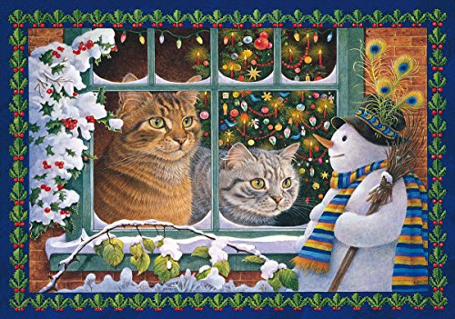 Wentworth Megatab, Mintaka and the Snowman 250 Piece Lesley Anne Ivory Wooden Jigsaw Puzzle