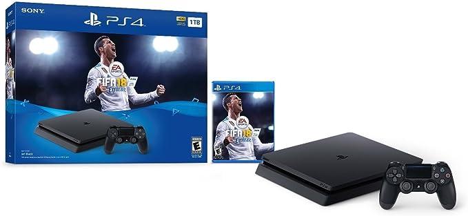 Sony. Sistema Consola PlayStation 4 Delgado 1 TB con la FIFA 18 ...