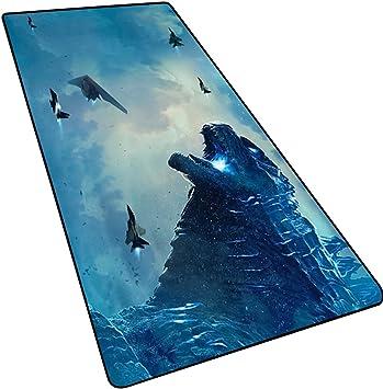 LOGER Monster King Godzilla 2 Mouse Pad Grande, tapete de Mesa/Teclado, Bloqueo Antideslizante Grueso, Adecuado para Juegos de oficina-6-90x40cm: Amazon.es: Electrónica