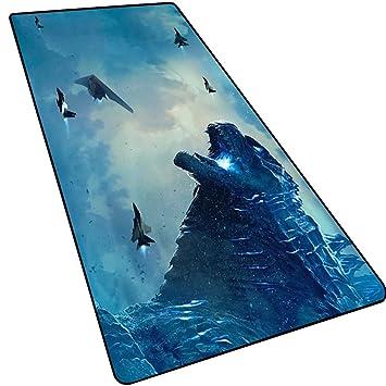 LOGER Monster King Godzilla 2 Mouse Pad Grande, tapete de Mesa ...
