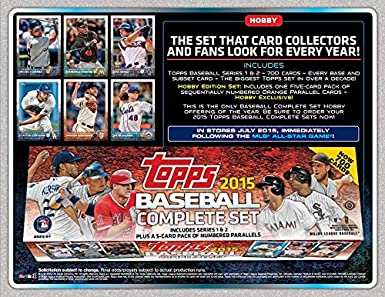 2015 Topps Baseball Cards Factory Set