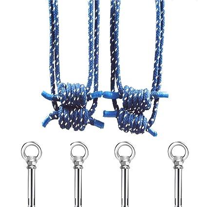 Amazon.com: Yoga Wall Ropes Kit, Antigravity Yoga Sling ...
