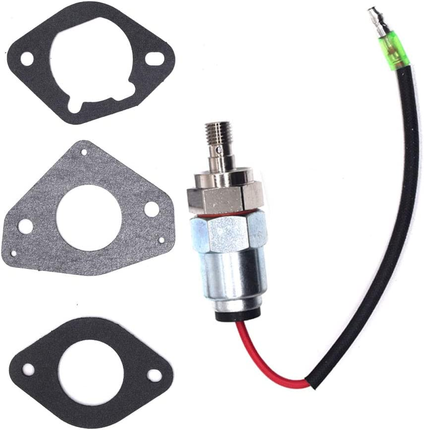 HuthBrother 2475722-S Fuel Solenoid Compatible With Kohler 2404120,2475722-S,2475515,Fits models CV17-25,CV620-740