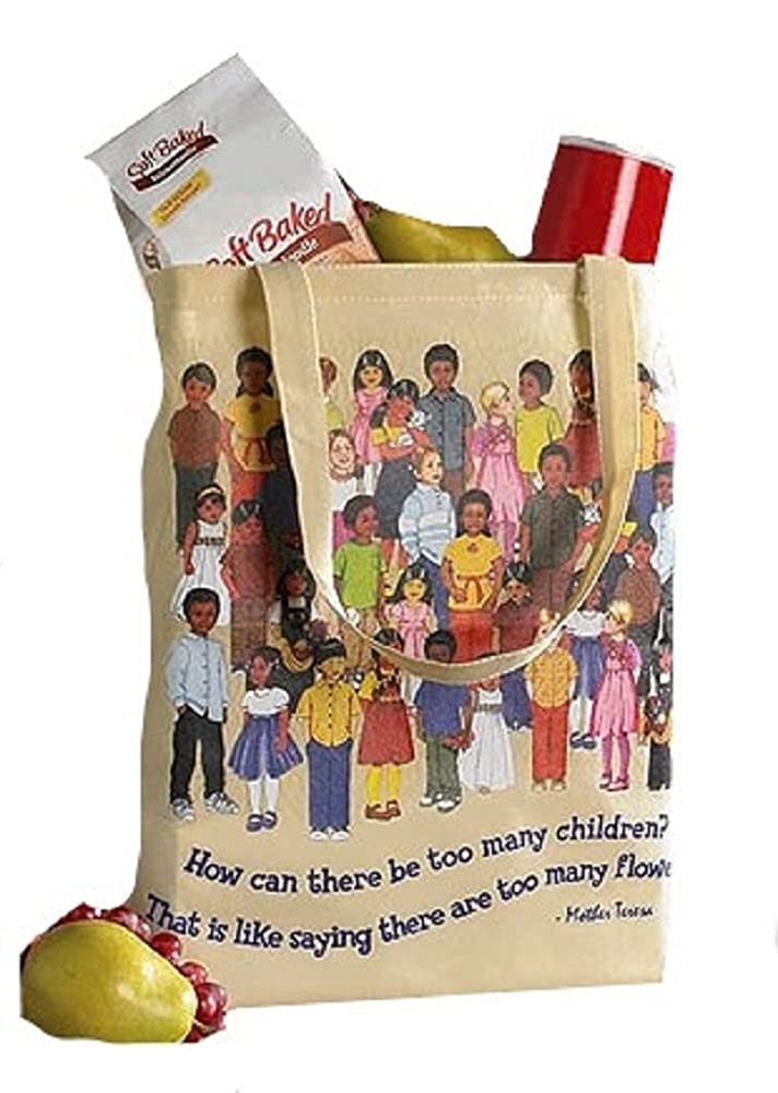 Children of the World Tote Bag – 12 / Pk B07BY9GR5G