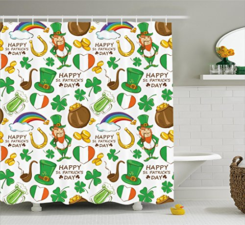 St. Patrick's Day Shower Curtain