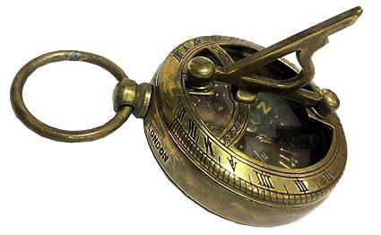 Amazon.com : Antiques World Directional Vintage Sun Clock ...