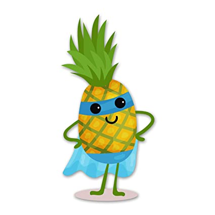 Amazon.com: Ninja Pickle Super Fruit Pineapple Decal for ...