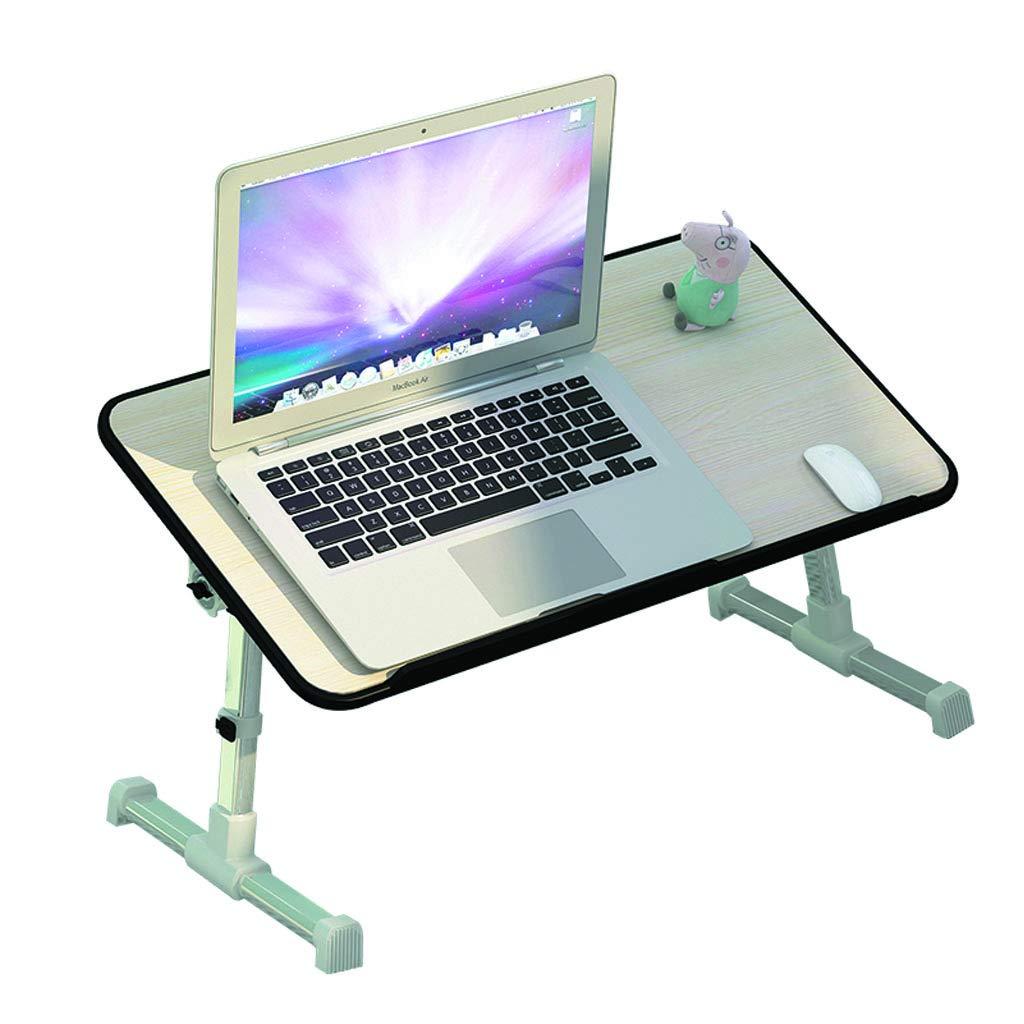 Mesa Plegable de Mesa de Trabajo multifunción Mesa de Estudio Plegable Mini Mesa de Ordenador Plegable (Color : A)