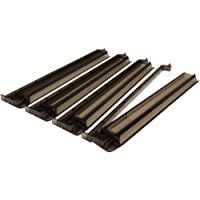 American Mahjong All-In-One Tile Rack & Pusher Arm - Set of 4 - Black