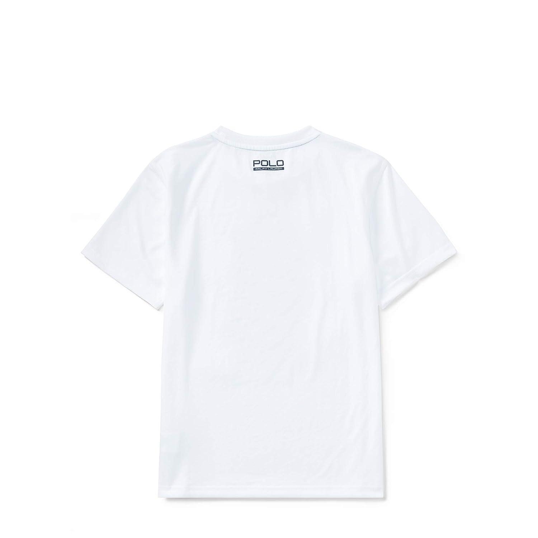 Ralph Lauren - Camiseta de Manga Corta - para niño Blanco Pure ...