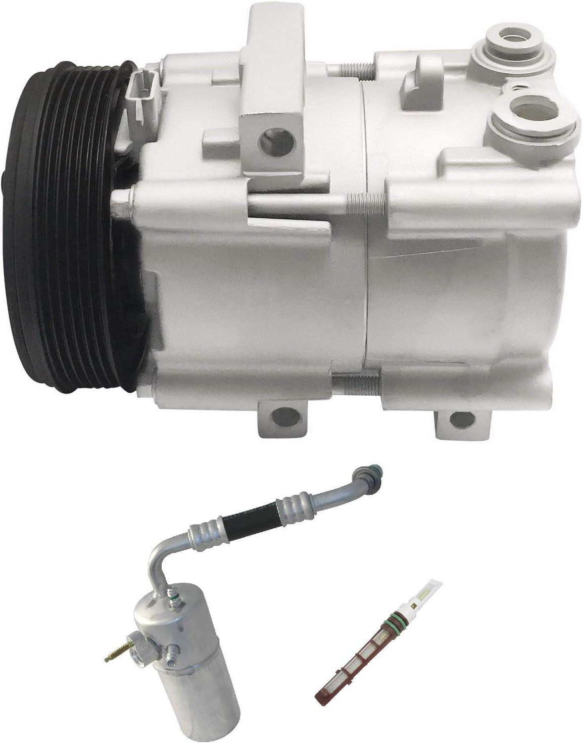 RYC Remanufactured AC Compressor Kit KT DA08