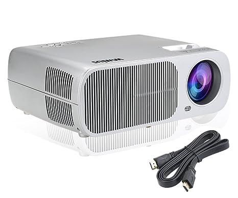 Proyector de vídeo LED T1 Multimedia Proyector de vídeo 2600 ...