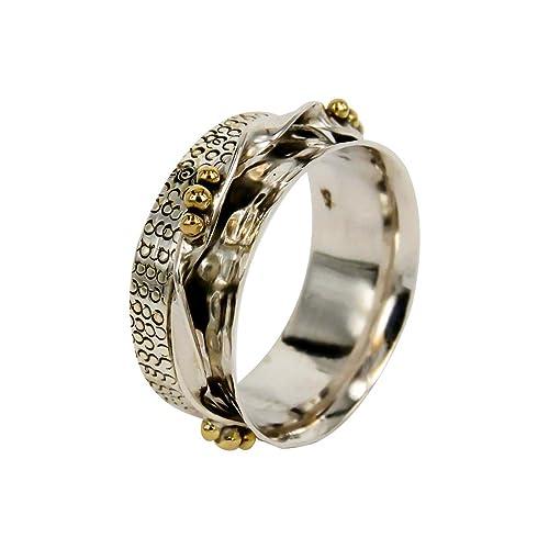 Fidget Spinner Spinning Ring Fidget Ring Meditation Ring