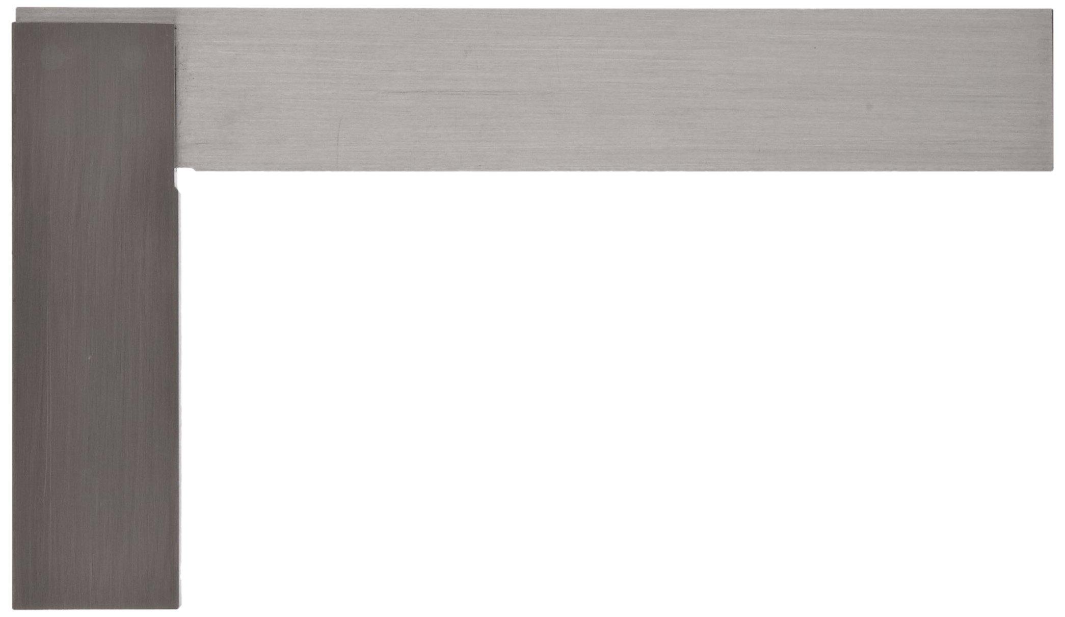 Starrett 3020-6 Toolmakers' Grade Stainless Steel Square, 3-29/32'' Beam Length, 5-29/32'' Blade Length