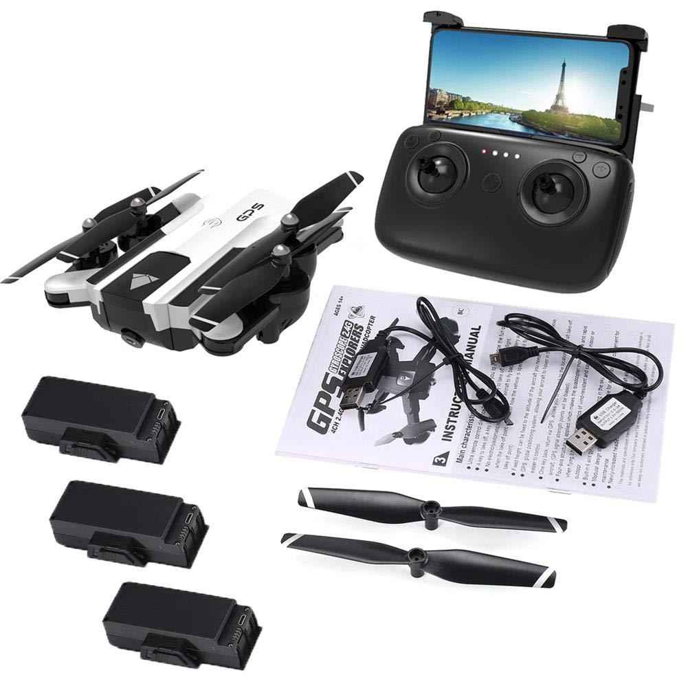 Miaoqian170 1080P WiFi FPV GPS RC Drohne, Faltflugzeug SG900-S, weiße Version
