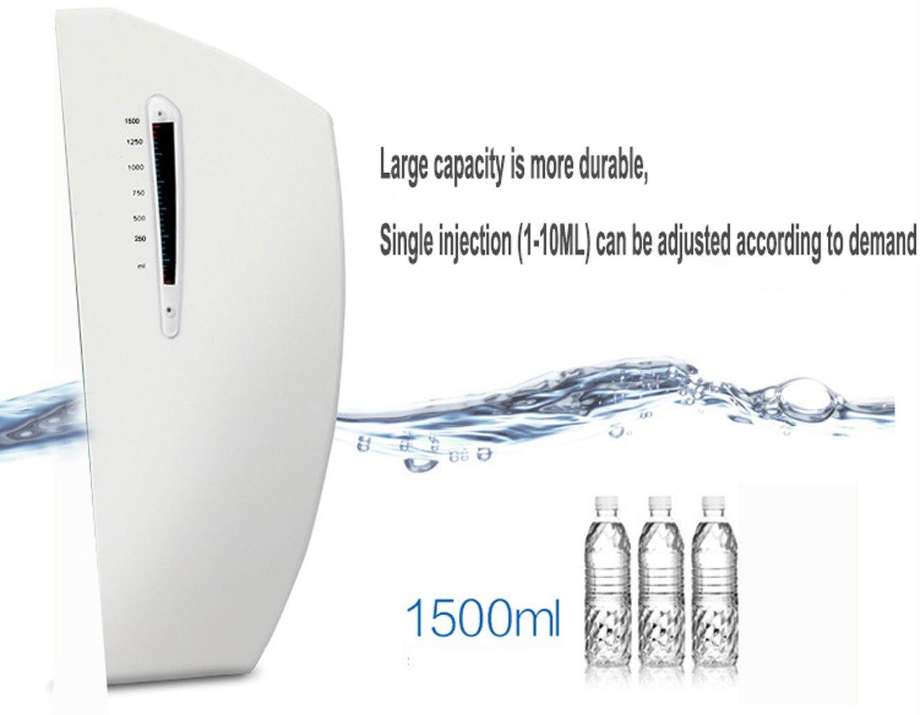 Esterilizador Esterilizador, esterilizador automático de la mano del espray del alcohol, limpiador de la mano que esteriliza, conveniente para el hogar, ...