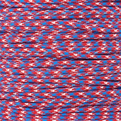 25 PARACORD PLANET 550 LB Type III 7 Strand 4mm Tactical Cord with Choices of 10 Over 300 Colors to Choose from 100 Feet Hanks or 250 /& 1000 Foot Spools with 3//8 Inch Black Buckles 20 50