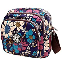Hynbase Lady's Packet Leisure Handbag Canvas Shoulder Cross Boby Bags