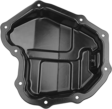 A-Premium Lower Engine Oil Pan Compatible with Nissan Sentra 2013-2019 L4 1.8L