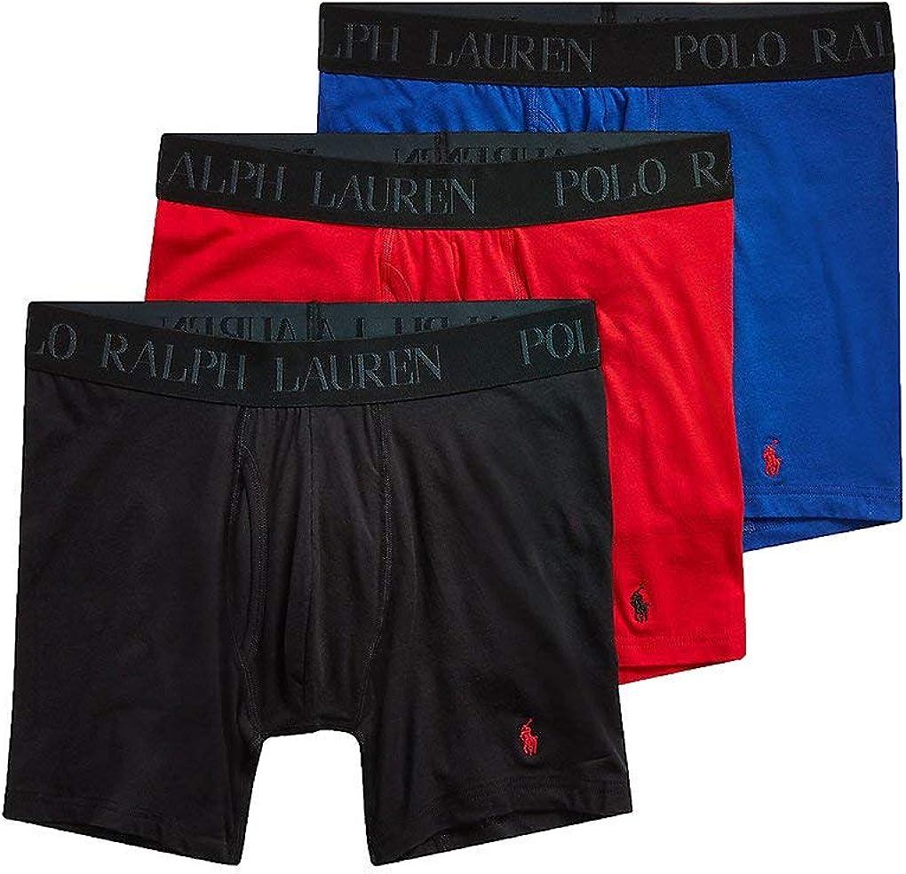 Polo Ralph Lauren 3-Pack 4D-Flex Cotton Modal Stretch Boxer Briefs