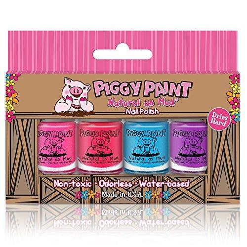 Piggy Paint Polish Set, Pack of 4 MJSteps Baby 3658
