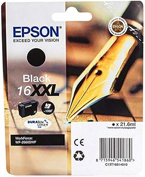 Epson 16XXL - Cartucho de tinta, paquete estándar, adecuado para ...