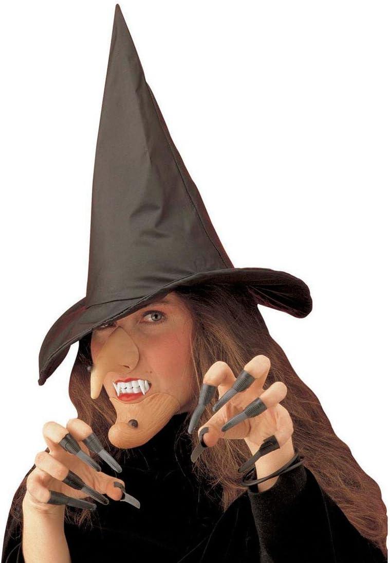 NET TOYS Disfraz de Bruja traviesa hechicera Vestido Halloween ...