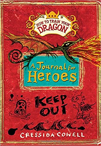 How to train your dragon a journal for heroes cressida cowell how to train your dragon a journal for heroes cressida cowell 9780316307437 amazon books ccuart Image collections