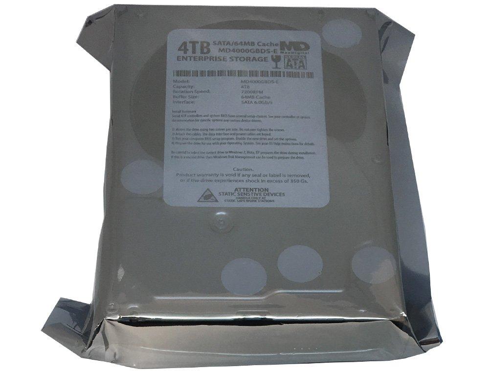 MaxDigital 4TB 7200RPM 64MB Cache SATA III 6.0Gb/s (Enterprise Storage) 3.5'' Internal Hard Drive w/2 Year Warranty by MaxDigital (Image #2)