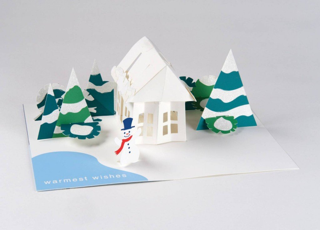 Amazon.com : Robert Sabuda Holiday House Boxed Pop Up Cards : Office ...