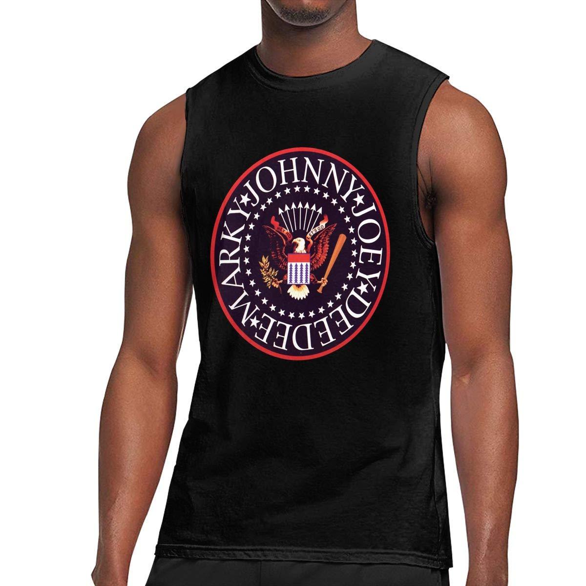Deborah E Freeman Ramones T Shirts Sleeveless Round Neck Tank Top T Shirt 1152