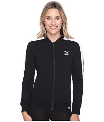 9440ea28c848 PUMA Women s T7 Track Jacket Black X-Small at Amazon Women s Coats Shop