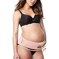 Fajas de embarazo ajustable de soporte de cinta dolor de espalda reducción para las premama antes del nacimiento mediante Rosa