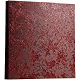 Xerhnan Leather Cover Photo Album 600 Pockets Hold 4x6 Photos.(Grape flower)