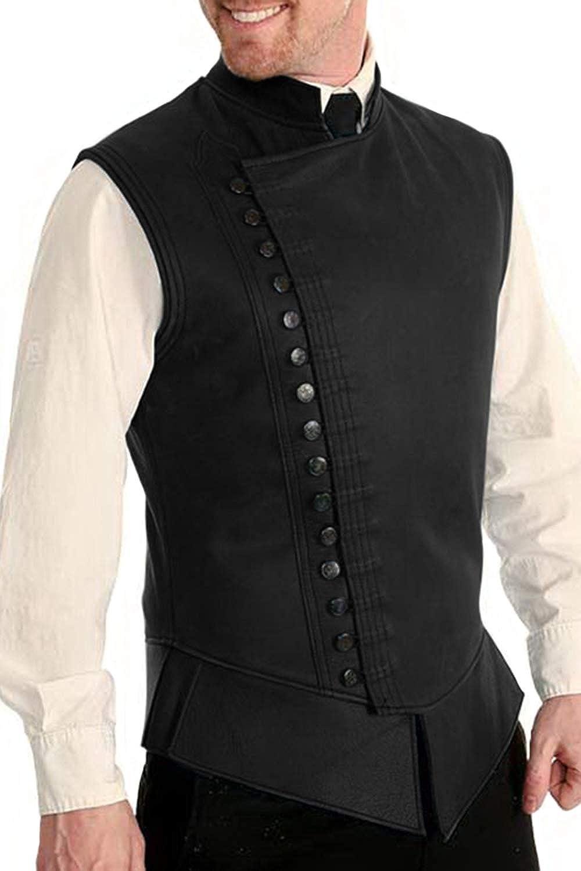 Adult Pirate Vest Renaissance Short Waistcoat 17th Century Vest 18th Century Style Vest Custom Orders Available