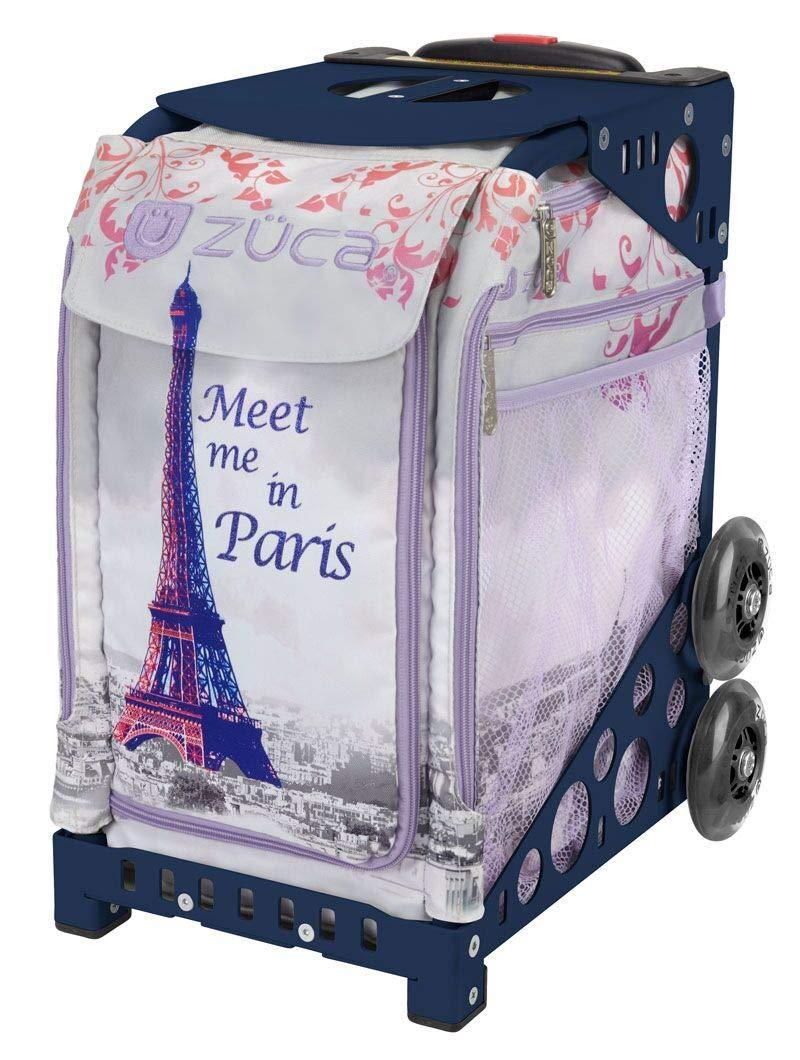 ZUCA スポーツスーツケース 内蔵シート付き - パリで紹介 インサートバッグ フレームカラーを選択 B07HCMW2C1 Parent ネイビーブルー