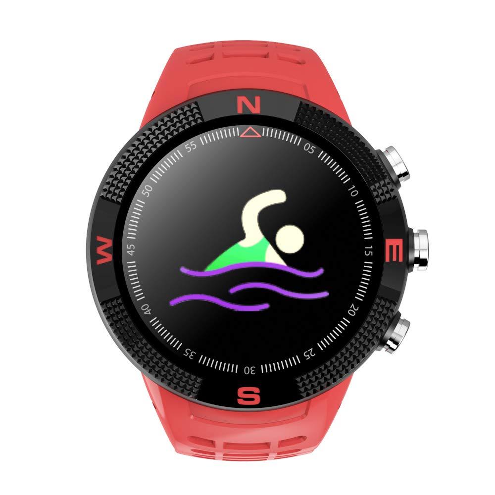 HUIGE Smart Watch, F18 Multi-función de posicionamiento GPS ...