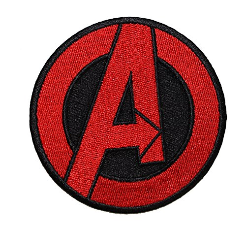 The Avengers Classic Logo PATCH - Officially Licensed Original Artwork, 3.25