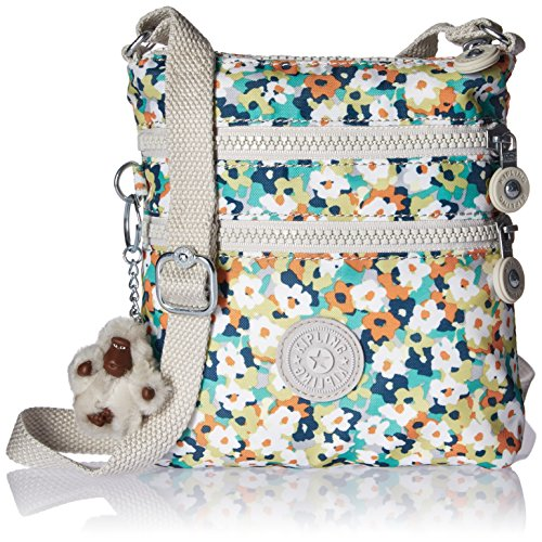 Kipling Alvar XS Printed Mini Crossbody Bag, Medwflwrgr
