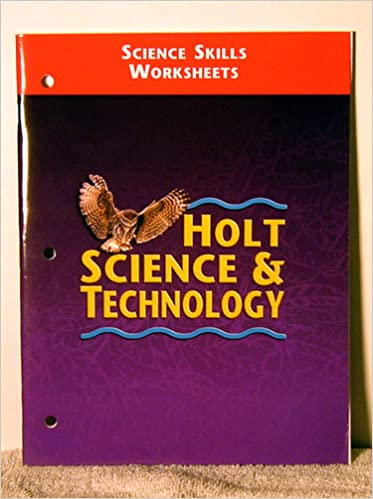 Holt Science And Technology Science Skills Worksheets
