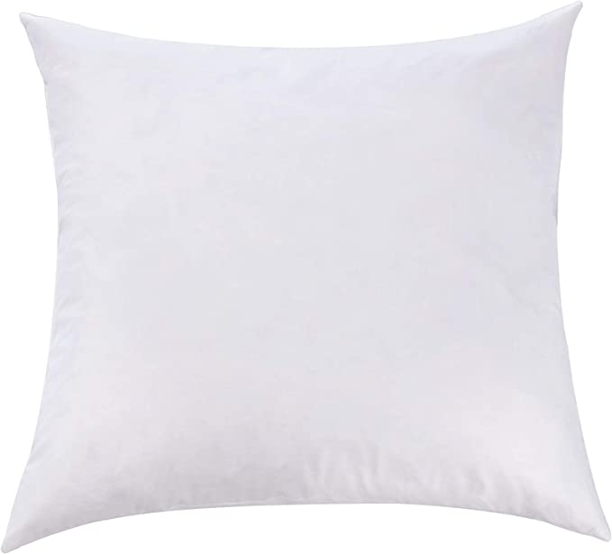 how to use decorative pillows amazon com l  cozee 100  cotton cover  feather   down pillow how to use throw pillows on a bed amazon com l  cozee 100  cotton cover