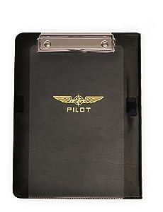 "DESiGN 4 PILOTS Aviation Kneeboard I-Pilot for Ipad Generation 2 to 4 and Ipad Air 1 and 2, iPad Air Pro 9,7"" Flight kneeboard"