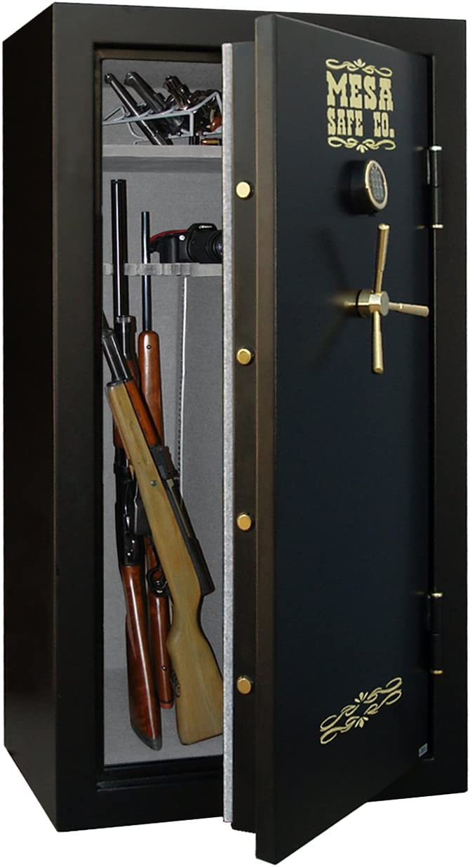 B002QQ7LG2 Mesa Safe Company MBF6032E 14.4 Cubic Foot 30 Rifle Gun Safe with Digital Lock 61Xphx3OF2L.SL1253_