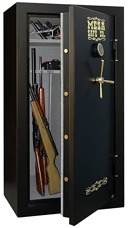 Mesa Safe Company MBF6032E 14 4 Cubic Foot 30 Rifle Gun Safe with Digital  Lock