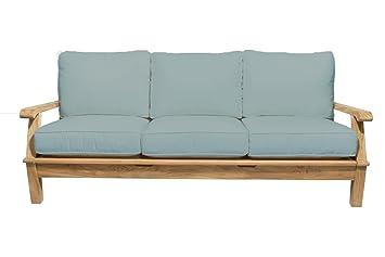 Amazon.com: Royal teca colección MIA3 Miami teca sofá, Spa ...