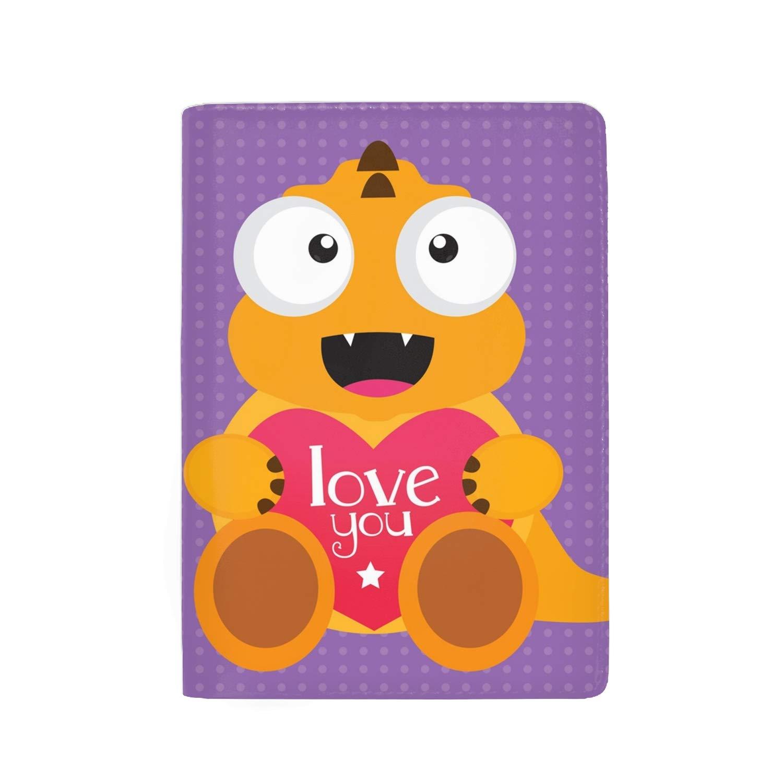 Passport Holder Case Cute Cartoon Little Horse Protective Premium Leather RFID Blocking Wallet Case for Passport