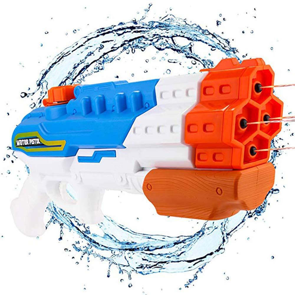 Queta Pistola de Agua Capacidad 1200~1500ML para niños Adulto Playa Agua Piscina Fiesta Verano Juguete Regalo de cumpleaños